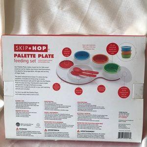 Skip Hop Other - Skip*Hop Palette Plate Feeding set